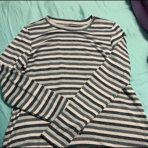 AE Striped Long Sleeve Top (NEVER WORN)